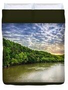 Cumberland River Duvet Cover