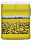 Daffodil Field Duvet Cover