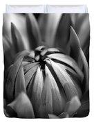 Dahlia Flower  Duvet Cover