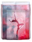 Dancing In The Clouds Duvet Cover