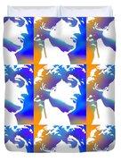 David Repeat Treatment One Color Duvet Cover