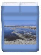Dead Sea Landscape Duvet Cover