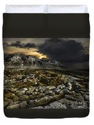 Dead Sea Sink Holes Duvet Cover
