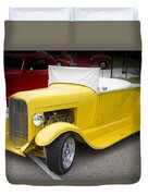 Deep Yellow Duvet Cover
