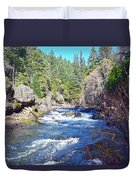 Deer Creek Duvet Cover