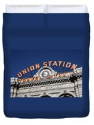 Denver - Union Station Duvet Cover