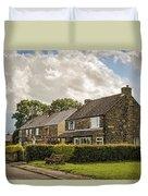 Derbyshire Cottages Duvet Cover