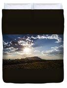 Desert Sun Duvet Cover