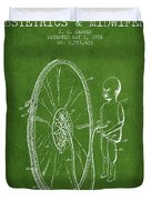 Device For Teaching Obstetrics And Midwifery Patent From 1951 -  Duvet Cover