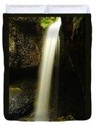 Devil Creek Falls Duvet Cover