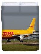 Dhl Airbus A300 Duvet Cover