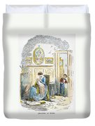Dickens: David Copperfield Duvet Cover