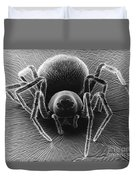 Dictynid Spider Duvet Cover