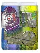 Digital Design 580 Duvet Cover