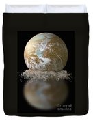 Dissolving Earth Duvet Cover