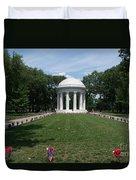 District Of Columbia War Memorial Duvet Cover