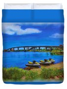 Do You Sea Doo Duvet Cover