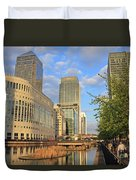 Docklands London Duvet Cover
