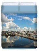 Dockside Duvet Cover