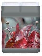 Dogwood  Autumn Duvet Cover