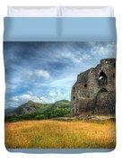 Dolbadarn Castle Duvet Cover