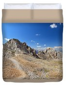 Dolomites - Costabella Ridge Duvet Cover