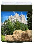 Dolomiti - Alpine Pasture Duvet Cover