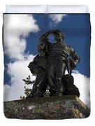 Donner Party Monument  Duvet Cover