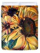 Dooley's Sunflowers Duvet Cover