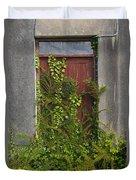 Door Of Old House Duvet Cover