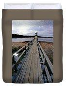 Doubling Point Lighthouse Duvet Cover