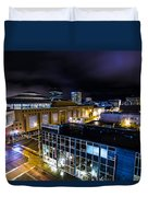 Downtown Anchorage Duvet Cover