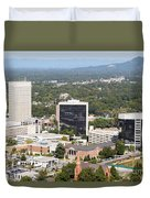 Downtown Greenville Duvet Cover