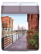 Downtown Greenville Sc Duvet Cover