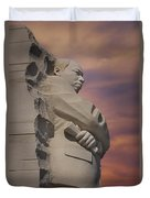 Dr. Martin Luther King Jr Memorial Duvet Cover