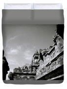 Dramatic Borobudur Duvet Cover