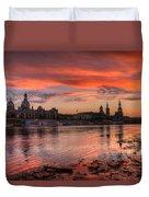 Dresden Sunset Duvet Cover