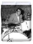 Drummer Gene Krupa Duvet Cover