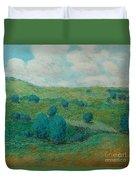 Dry Hills Duvet Cover