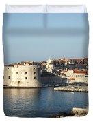 Dubrovnik In Croatia Duvet Cover