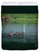 Duck Pond Duvet Cover