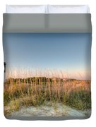 Dunes To Lighthouse Duvet Cover
