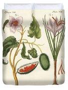 Dye Plants Duvet Cover