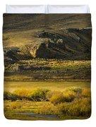 Early Fall Sunrise Duvet Cover