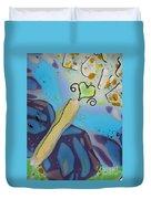 Earth Love Butterfly Duvet Cover