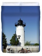 East Chop Lighthouse Duvet Cover