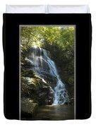 Eastatoe Falls North Carolina Duvet Cover