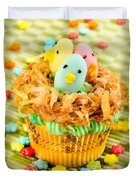 Easter Cupcakes  Duvet Cover