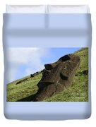 Easter Island 18 Duvet Cover