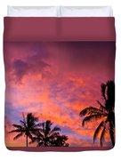 Easter Island Sunrise 2 Duvet Cover